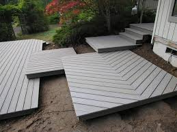 Deck And Patio Design Ideas by Floating Deck Over Concrete Patio Decorations Ideas Inspiring