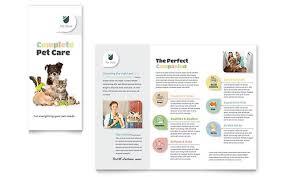 pet store brochure template microsoft office microsoft