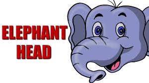 how to draw a elephant head hd youtube