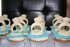bridal cupcakes bridal shower engagement ring cupcakes
