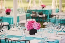 teal wedding decorations aqua and pink wedding reception table decor wedding stuff