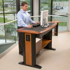Stand Up Desk Office Best Standing Adjustable Desk Home Design Ideas