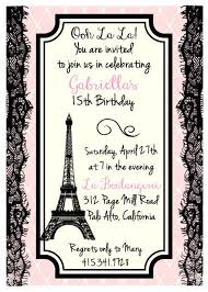 eiffel tower invitations printed eiffel tower parisian theme birthday bridal shower