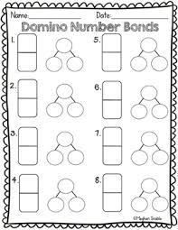 domino number bond math activity engage new york supplement by