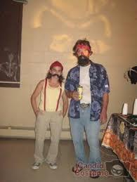 Cheech Chong Halloween Costume Funny Minute Couples Costume Idea Cheech Chong Couple