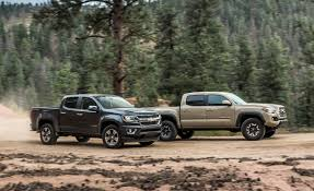 toyota tacoma manual transmission review 2015 chevrolet colorado lt crew cab 4wd vs 2016 toyota tacoma trd