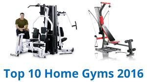 Home Gym by 10 Best Home Gyms 2016 Youtube