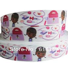 doc mcstuffins ribbon online shop free shipping 1 25mm doc mcstuffins printed polyester