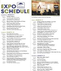 schedule of events for the 2011 home expo in kalamazoo mlive com