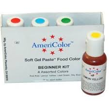 americolor gel food coloring pastry chef u0027s boutique