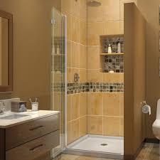 dreamline shdr 3634720 01 aquafold shower door 33 clear glass