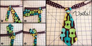 a free pattern and tutorial for how to sew a baby necktie tie