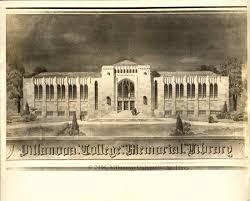 falvey memorial library villanova university digital library exhibits photographs of conceptual drawings for