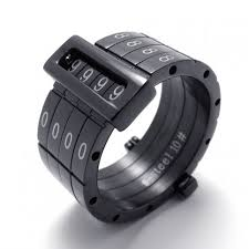 black titanium rings black puzzle code titanium ring 20687 titanium jewelry shop