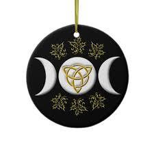 moon tri quatra 1 ornament pagan wicca
