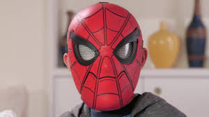spider man homecoming spider sight mask youtube