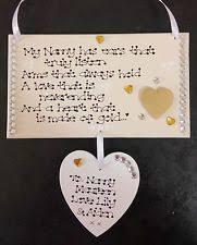 Grandparent Plaques Grandmother Personalised Decorative Indoor Signs Plaques Ebay