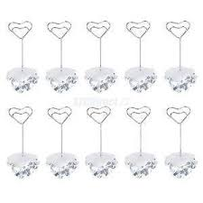 wedding table number holders table number holders wedding supplies ebay