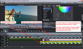 alpha mask effects in magix movie edit pro plus video editing