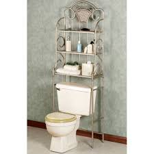 bathroom fabulous bathroom etagere over toilet for dazzling