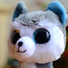 ty beanie boos kids plush toys big eyes slush dog christmas gifts