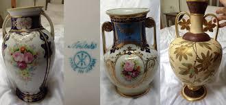 Wedgwood Vase Patterns Help Identifying The Pattern Of 1908 Noritake 3 Va The Ebay