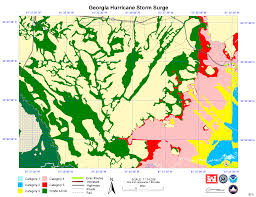 Georgia River Map State Level Maps