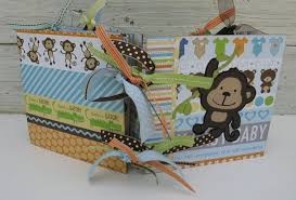 baby boy scrapbook album adorable baby boy scrapbook photo album ready to ship this