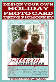 create a holiday photo card in picmonkey the graphics fairy