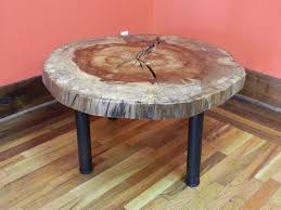 live edge round table coffee tables figured black walnut lumber live edge furniture