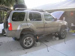 lifted nissan frontier nissan xterra 2 inch body lift install