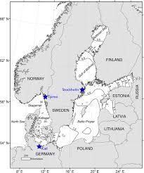 Kiel Germany Map by Map Of The Study Area The Skagerrak Baltic Sea Region Is