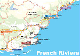 Provence Map Map Of France Riviera Partywithorangecounty