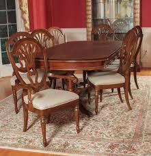 universal furniture federal style dining table and chairs ebth