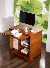 bureau informatique bois massif petit bureau informatique en merisier de style louis philippe