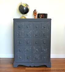 faux apothecary cabinet pottery barn inspired makeover in
