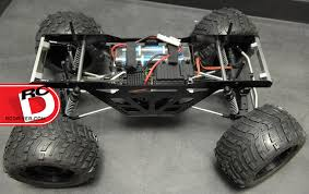 rc monster truck racing izilla monster truck racing chassis kit for axial wraith by strc