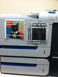 Printer Meme - printer imgur