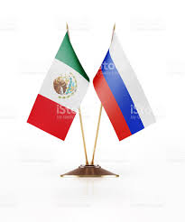 miniature flag of mexico and russia stock photo 545128224 istock