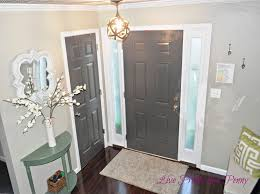 Painted Interior Doors Dark U0026 Stormy Can Be Good Live Pretty On A Penny
