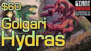 budget modern deck tech golgari hydras 60 youtube