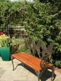 butterfly bench in my garden pinterest