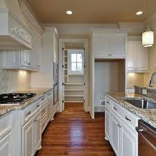 Kitchen Cabinets With Granite Countertops Roman White Granite Kitchen Countertops Design Ideas