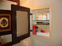 White Recessed Medicine Cabinet With Mirror Medicine Cabinet Recessed No Mirror Roselawnlutheran