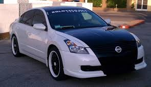 nissan altima custom parts white altima with black paint job nissan altima forum