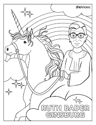 the notorious rbg coloring book of our feminist dreams free