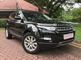 maroon range rover buy used land rover range rover evoque 2 0 tss car in singapore