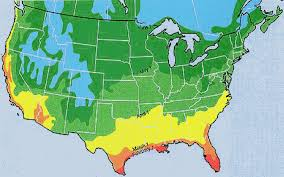 Growing Zone Map Us Zone Map Survival Blog Survival Blog