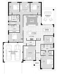 2 4 bedroom house plans floor plan jackson contemporary modern sims small big design