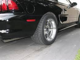 17x10 mustang wheels sve mustang 2003 cobra style wheel 17x10 5 machined